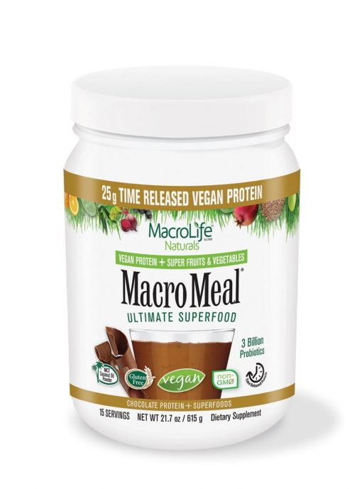 Macro Meal 15 Servings - Vegan Chocolate