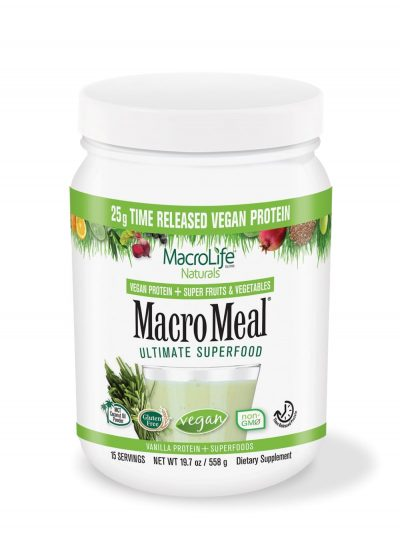 Macro Meal 15 Servings - Vegan Vanilla