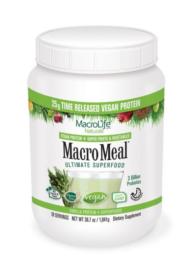 Macro Meal 28 Servings - Vegan Vanilla