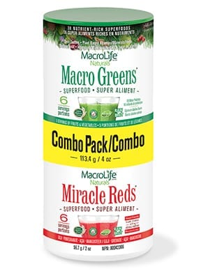 MacroLife Naturals Combo Greens and Reds Pack