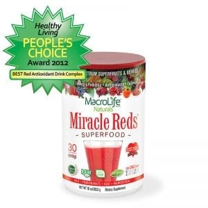MacroLife Product Awards for Miracle Reds