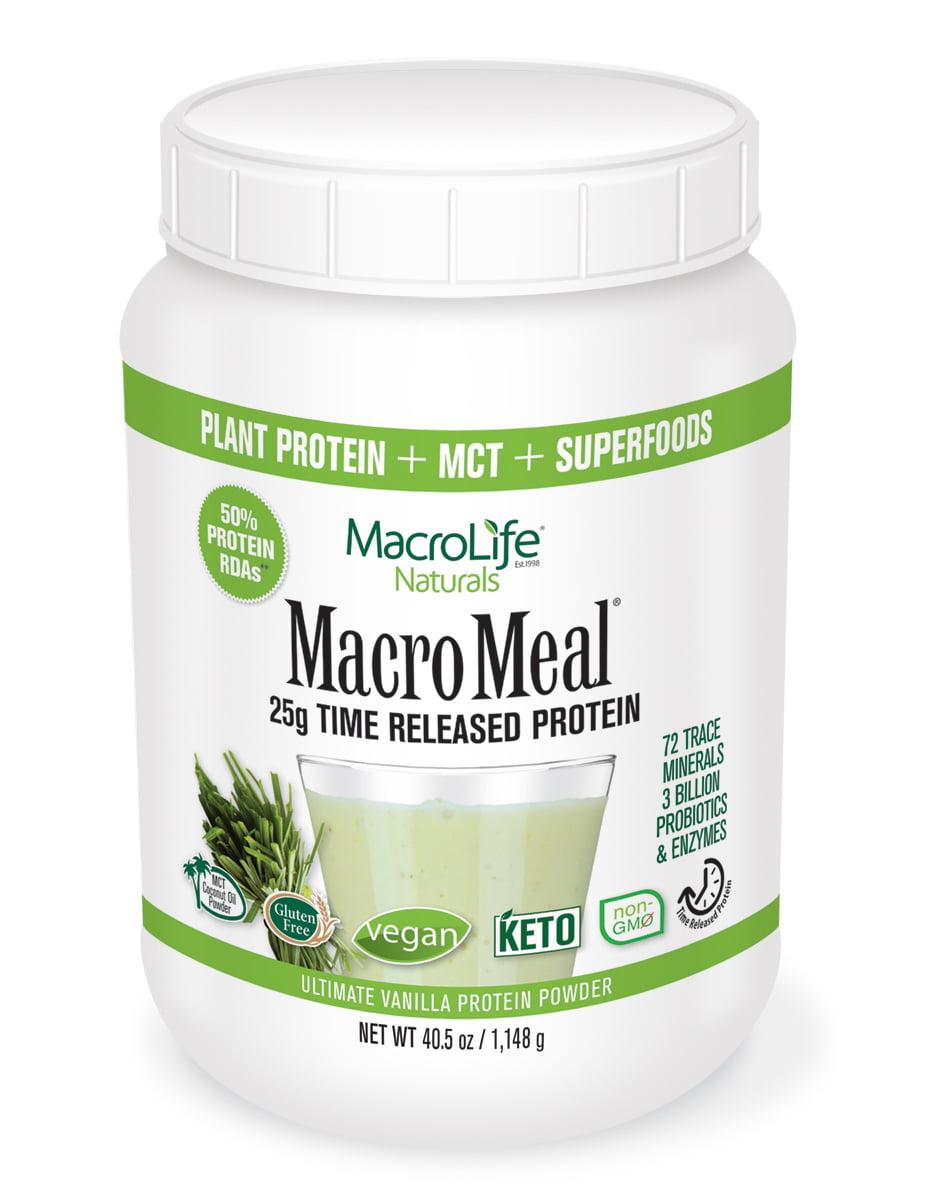 MacroMeal Vegan Vanilla - 28 Servings